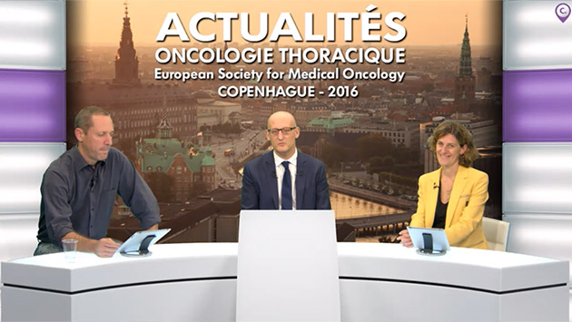 webcast, live, Actualités en oncologie thoracique à l'European Society for Médical Oncology