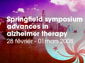 comptes rendus, Springfield, Symposium on Advances in Alzheimer Therapy